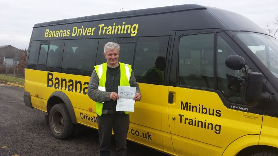 minibus test borders D1 peebles galashiels kelso melrose edinburgh livingston