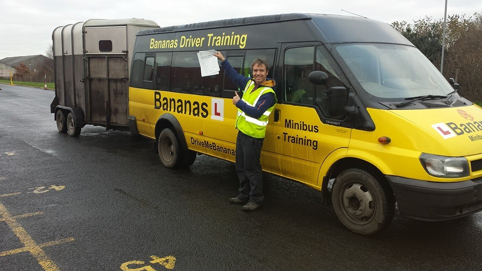 D1E D1+E minibus and trailer training edinburgh scotland